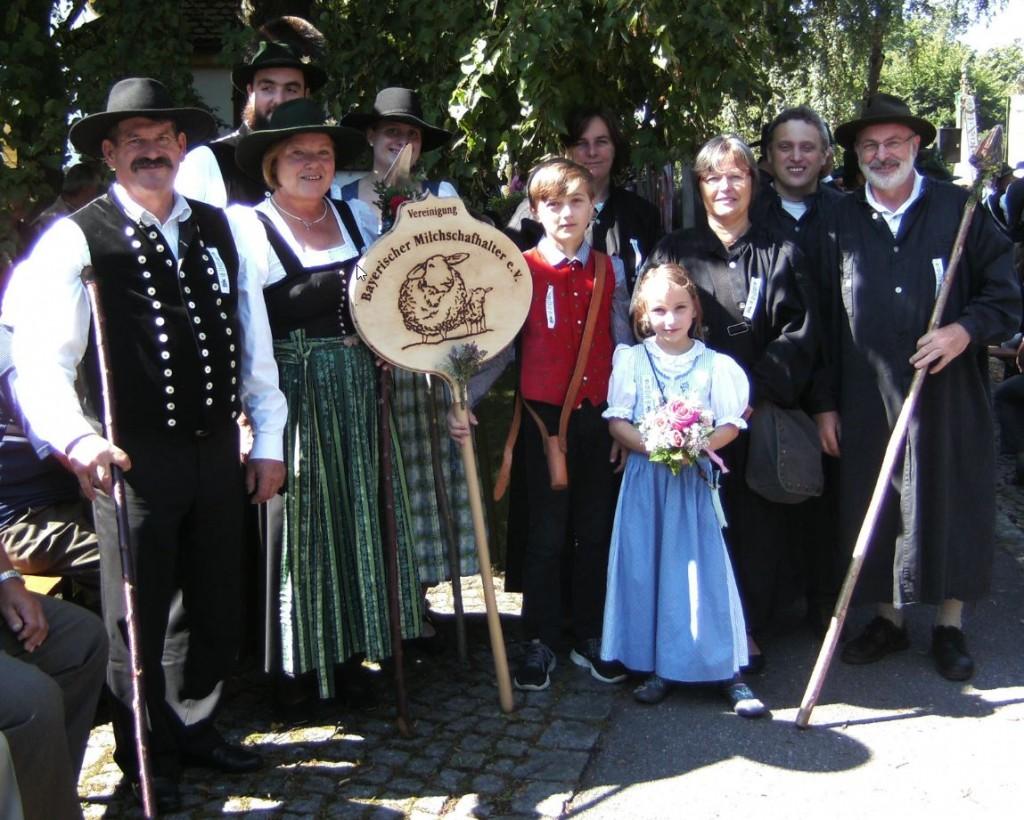 Auch die Vereinigung Bayerischer Milchschafhalter feiert die Vereinigung Niederbayerischer Schafhalter!